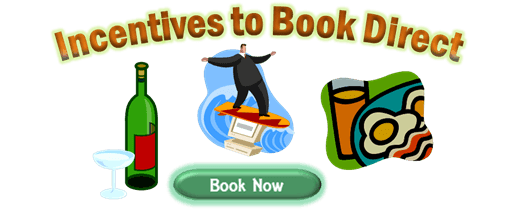 Book directly with owners and save money